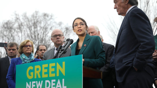 A Green New Deal: Reimagining the US Economy