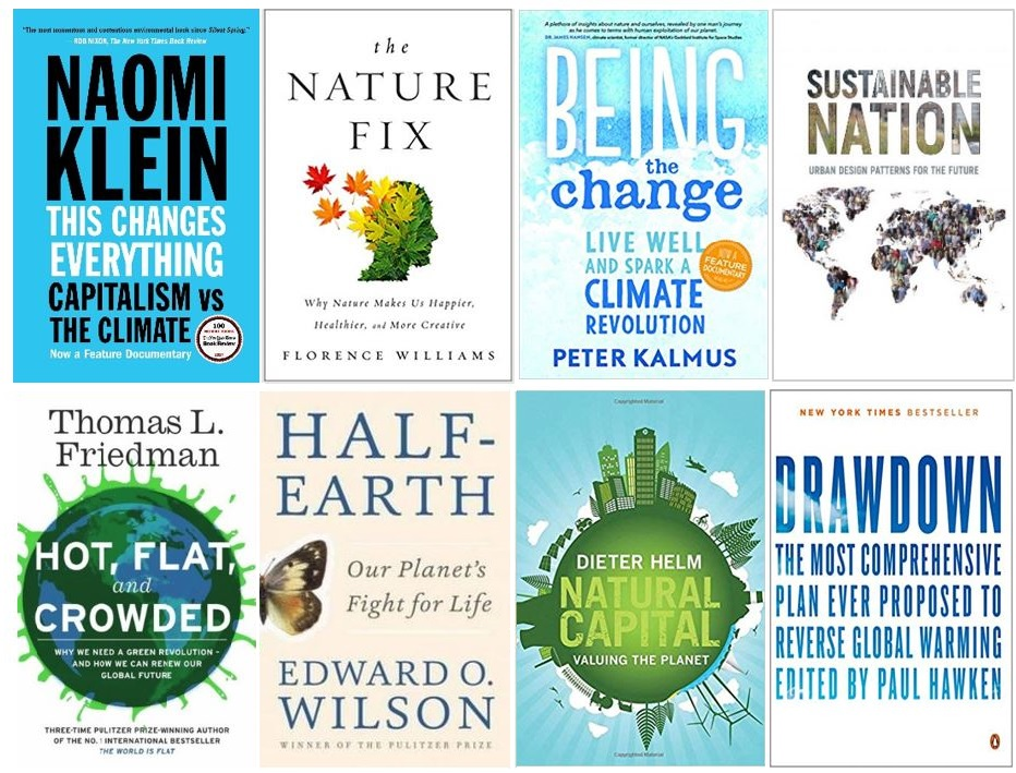 Top 16 Books on Climate Change and Sustainability in 2021