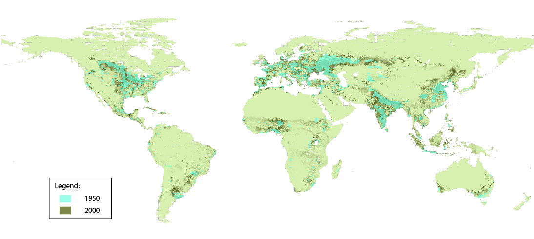 Agriculture map