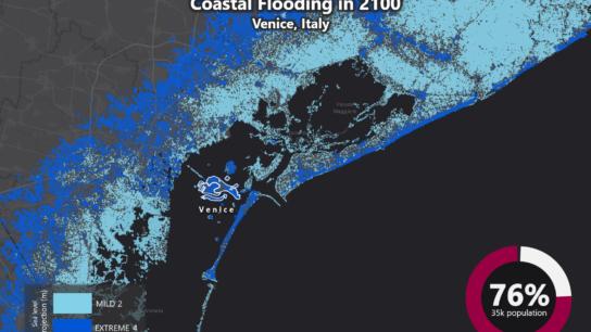 Sea Level Rise Projection Map – Venice