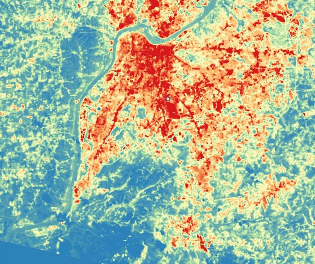 Louisville Urban Heat Island