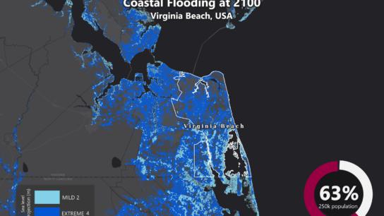 Sea Level Rise Projection Map – Virginia Beach