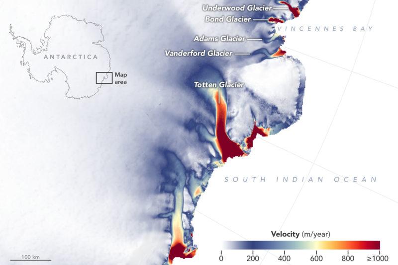 east antarctic ice loss