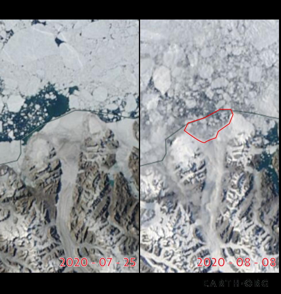 canada ice shelf