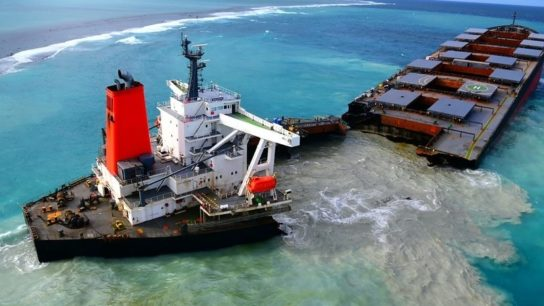 Mauritius's Plan To Dump Part of Wrecked Ship Sparks Controversy