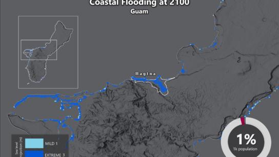 Sea Level Rise Projection Map – Guam
