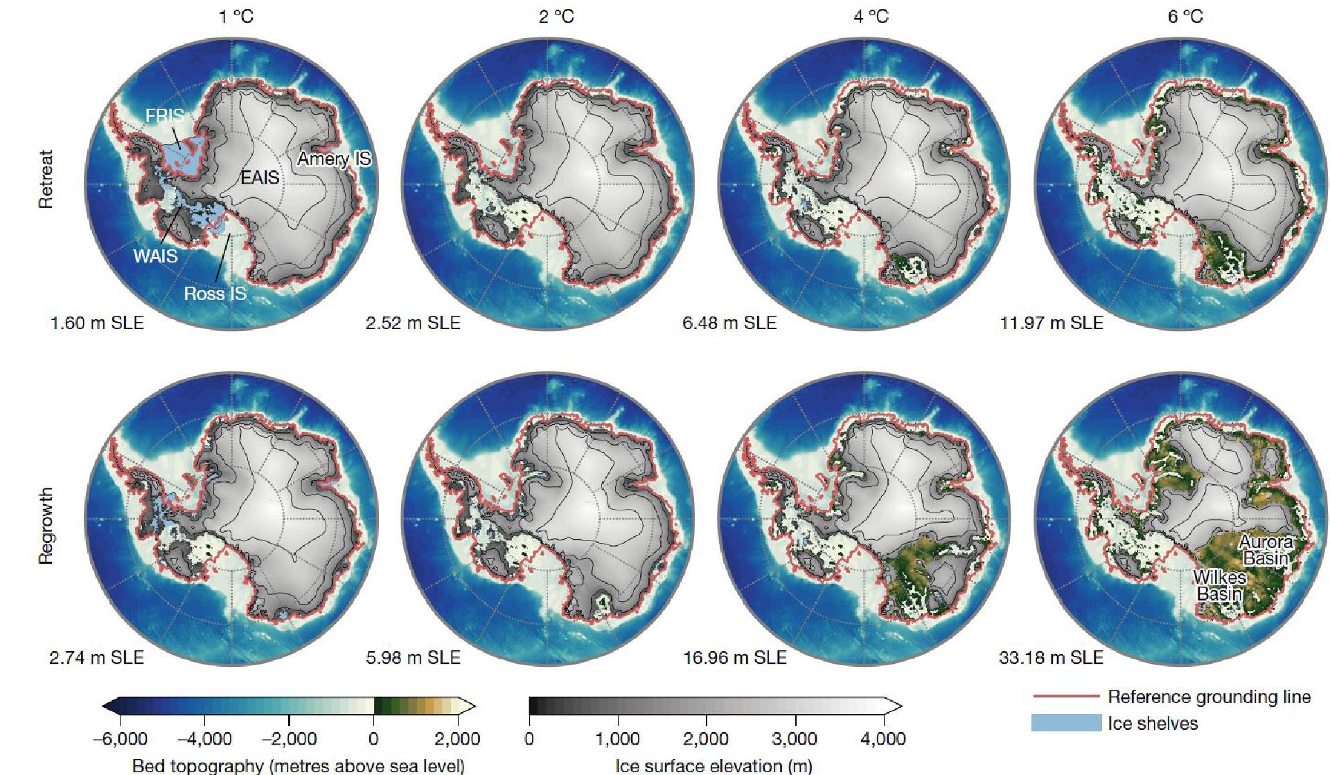 Antarctica's ice sheet melt