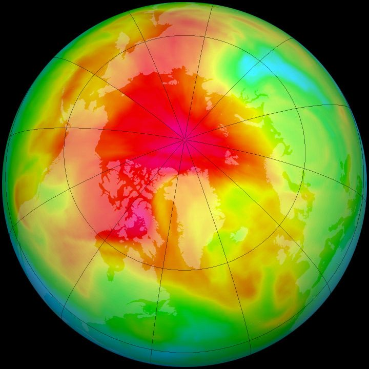 This Year's Ozone Hole Over Antarctica is at its Largest in More Than a Decade
