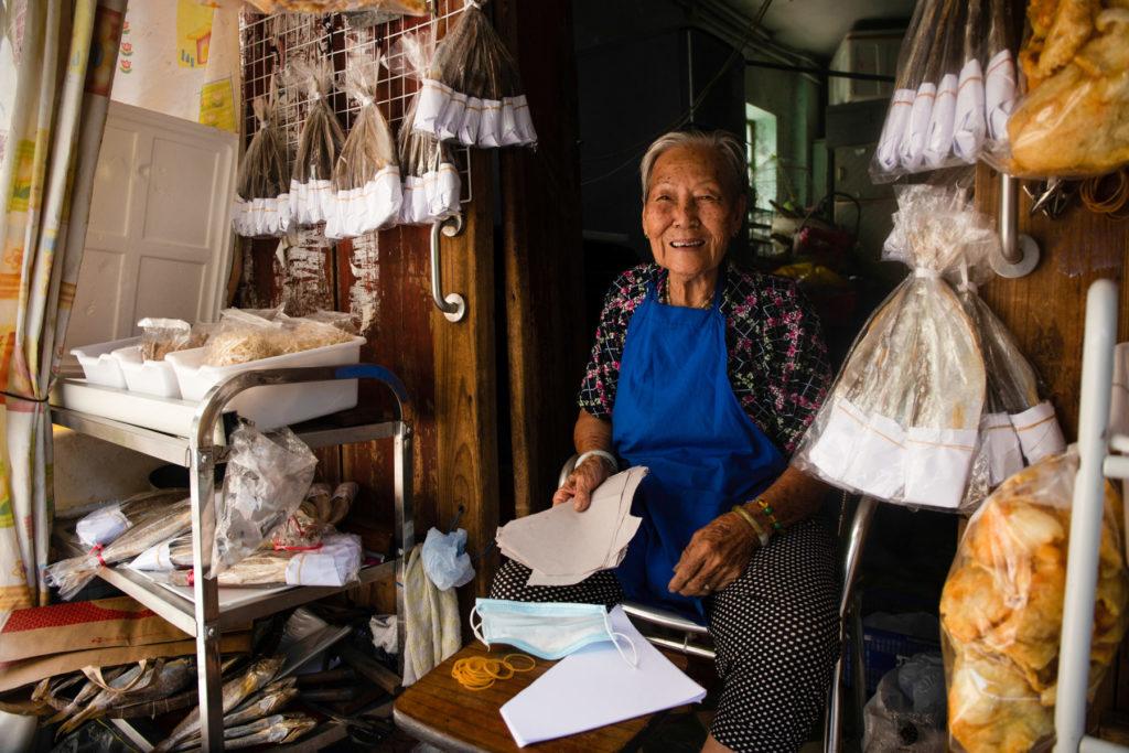 woman working tai o