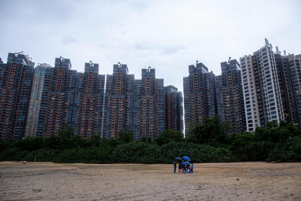 hong kong housing tower complex