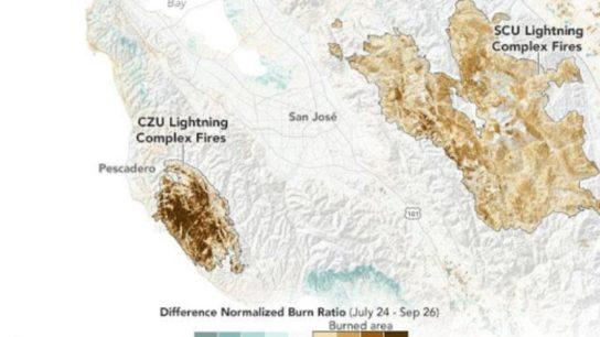 How California's Wildfires Threaten Ground Stability