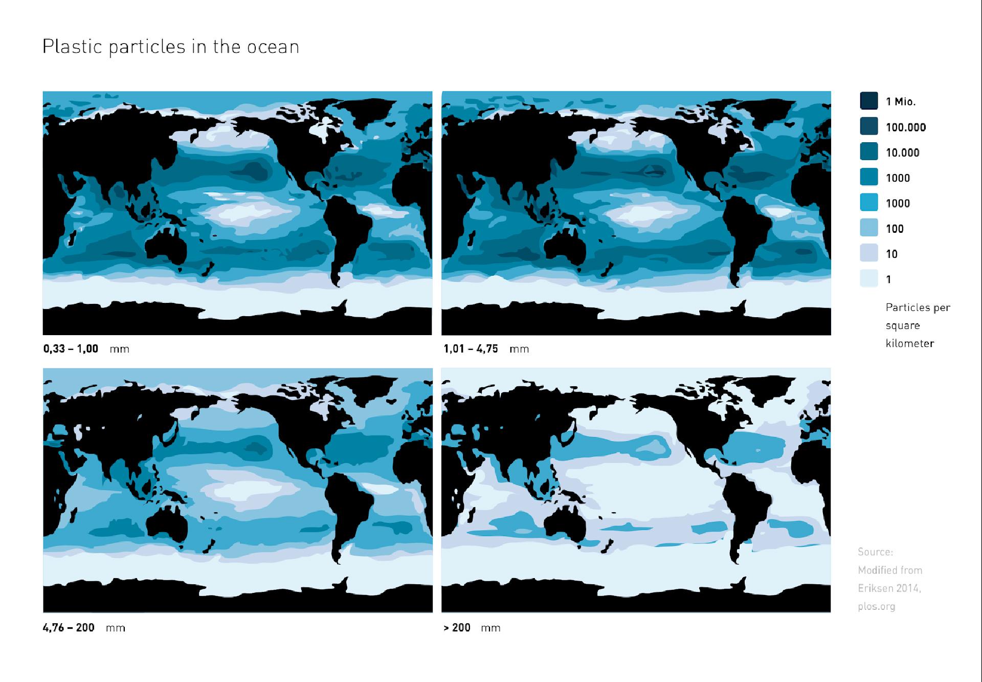 marine litter map