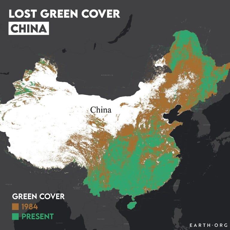great green wall of china