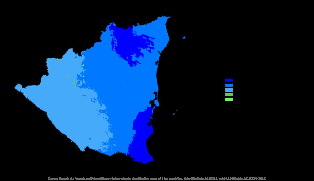 Nicaragua climates