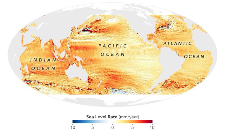 nasa sea level rise