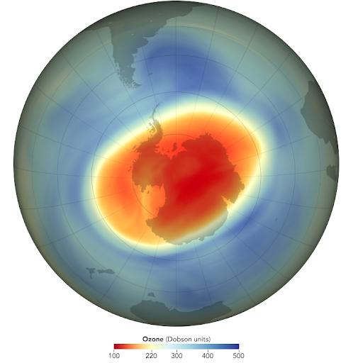 ozone hole layer 2020