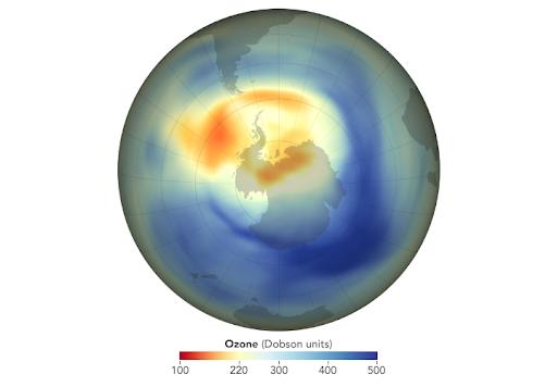ozone layer hole 2019
