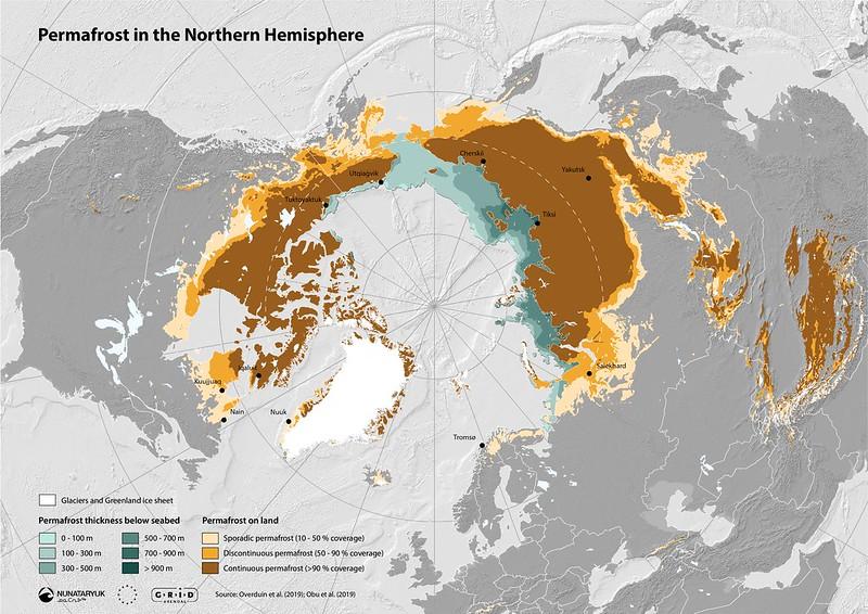 permafrost map nunataryuk