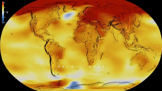 2020 Tied for Hottest Year In Recorded History