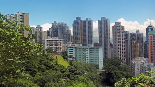 How Climate Change Will Threaten Hong Kong Hillside Settlements