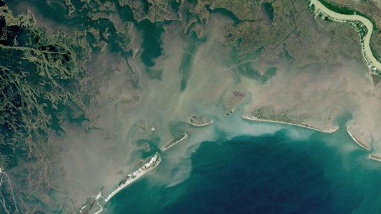 NASA Imagery: Louisiana is Losing its Coastline