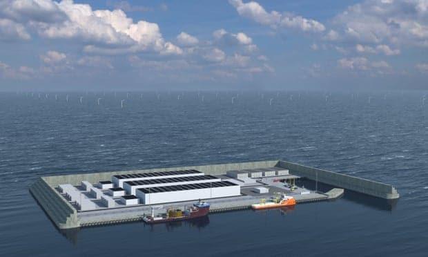 Denmark is Building an Artificial Island as a Clean Energy Hub
