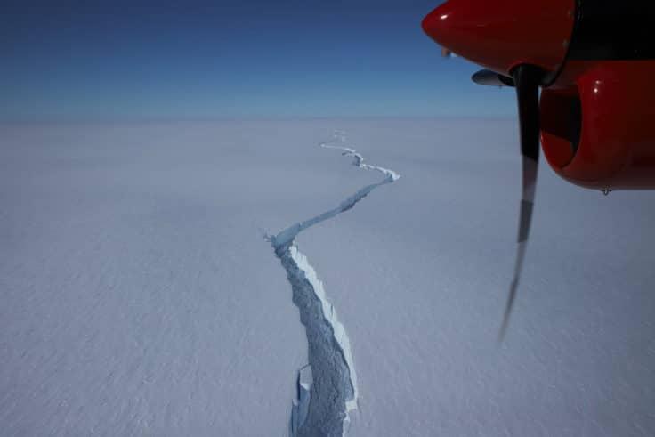 An Iceberg Bigger Than New York City Broke Off an Ice Shelf in Antarctica