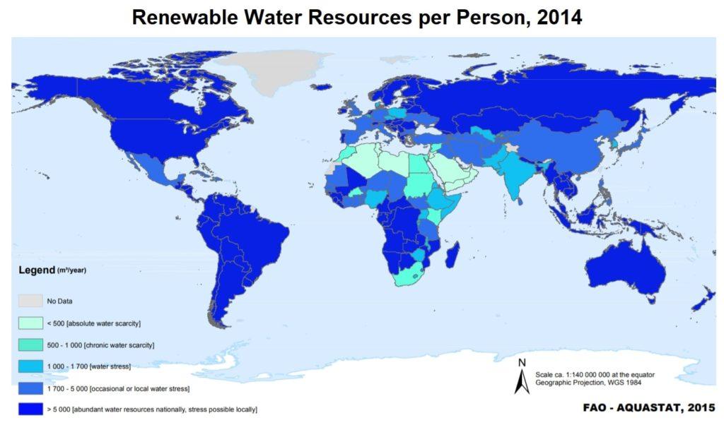 renewable water sources per person