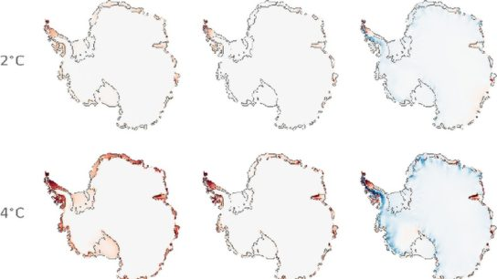 A Third of Antarctic Ice Shelves Could Melt Away, But They Don't Have To