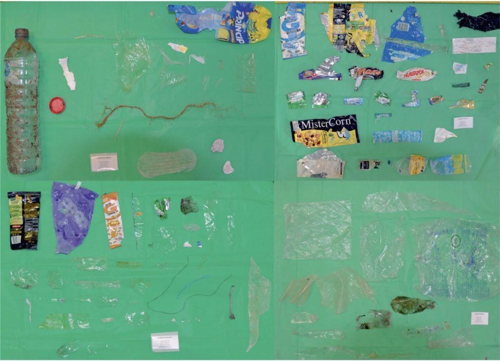 plastic take away item ocean plastic