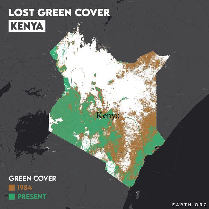 kenya desertificationo map 1984 vs present