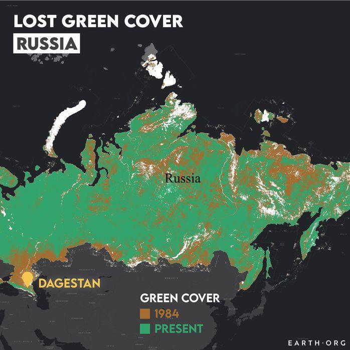 russia desertification map 1984 vs present