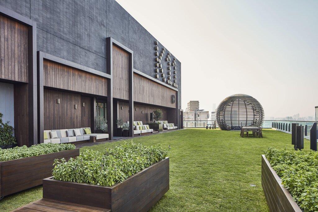 green building, K11 ATELIER King's Road, new world development