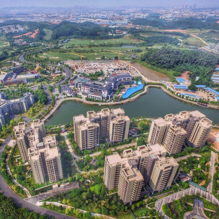 sponge city, canton first estate, new world development