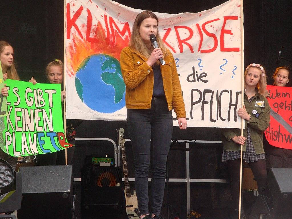 global climate action, climate activists, Luisa Neubauer