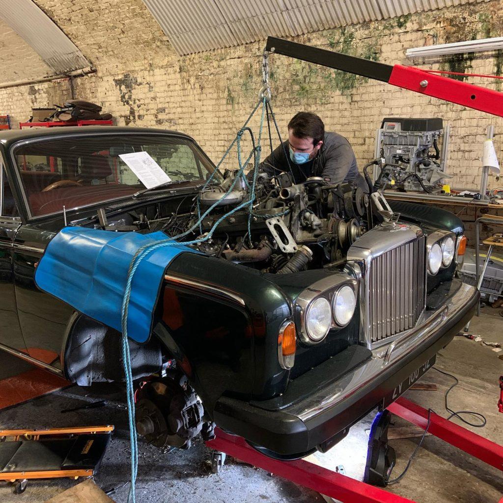 antique cars, london electric cars