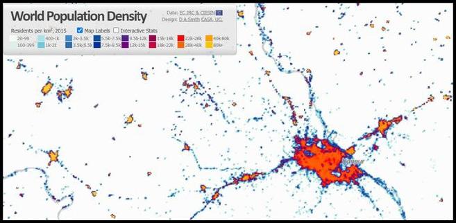 kanpur population density