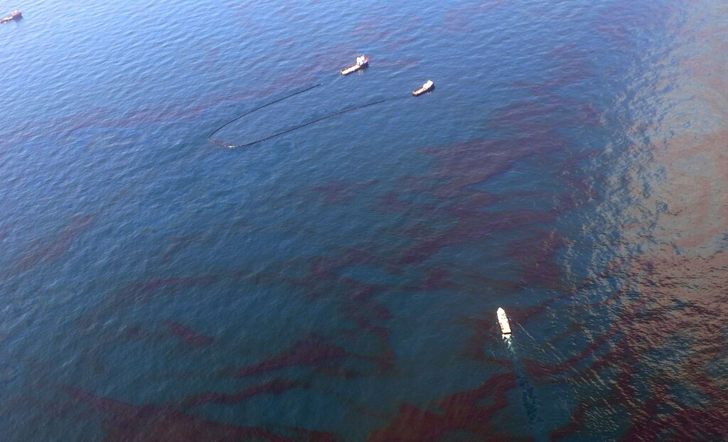 Hurricane Ida Triggered Oil Spill in Gulf of Mexico