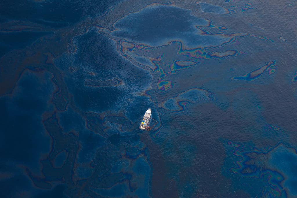 BP oil spill, oil pollution