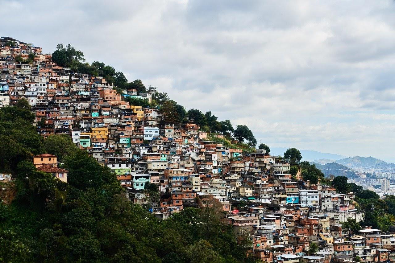 Could Planting Trees Make Heatwaves Milder, rio de janeiro, brazil, favela